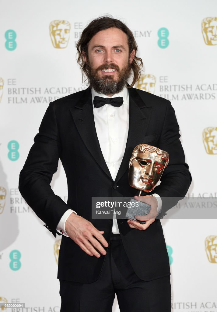 Casey Affleck With His Best Actor Award For Manchester By The Sea News Photo Getty Images
