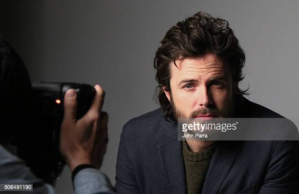 Casey Afflect from the film ''Manchester by the Sea' posed for a portrait during The Hollywood Reporter 2016 Sundance Studio At Rock Reilly's Day 2...