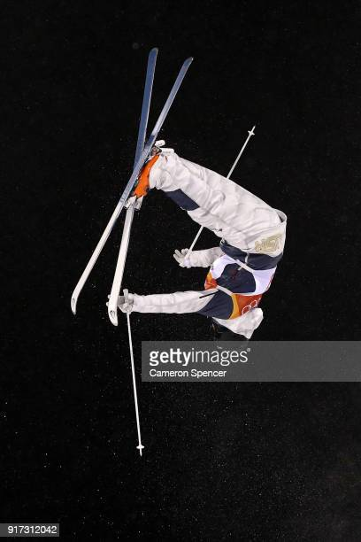 Casey Andringa of the United States competes in the Freestyle Skiing Men's Moguls Final on day three of the PyeongChang 2018 Winter Olympic Games at...