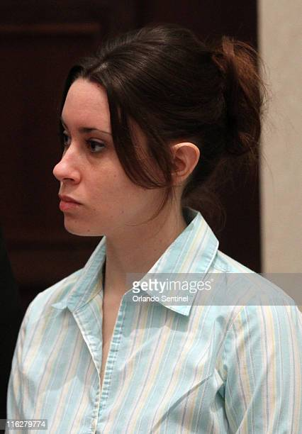 Casey Anthony arrives in the courtroom during day 19 of her firstdegree murder trial at the Orange County Courthouse in Orlando Florida Wednesday...