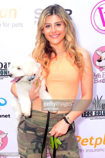 Casey Baer attends 4th Annual World Dog Day at West Hollywood Park on May 18, 2019 in West Hollywood, California.