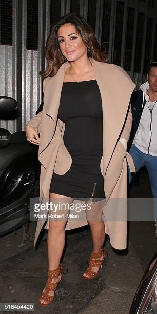 Casey Batchelor attending the In The Style clothing launch at Libertine on March 31 2016 in London England