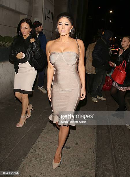 Casey Batchelor attending The Sun Bizarre Party at Steam and Rye on March 2 2015 in London England