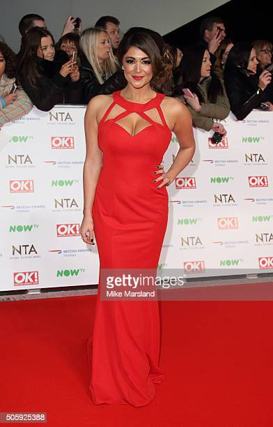 Casey Batchelor attends the 21st National Television Awards at The O2 Arena on January 20 2016 in London England