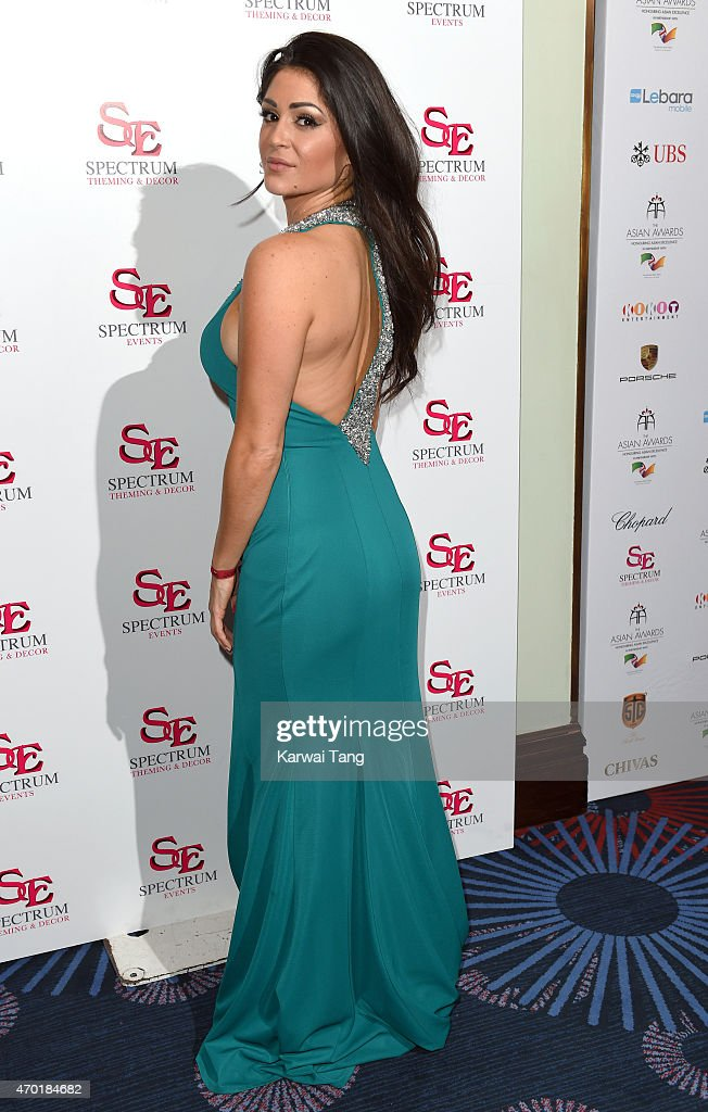 Casey Batchelor attends The Asian Awards 2015 at The Grosvenor House Hotel on April 17, 2015 in London, England.