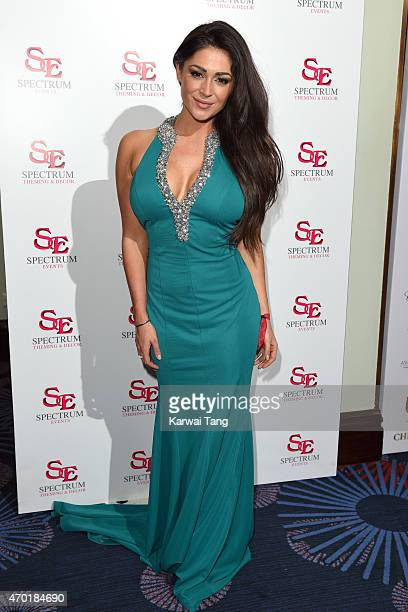 Casey Batchelor attends The Asian Awards 2015 at The Grosvenor House Hotel on April 17 2015 in London England