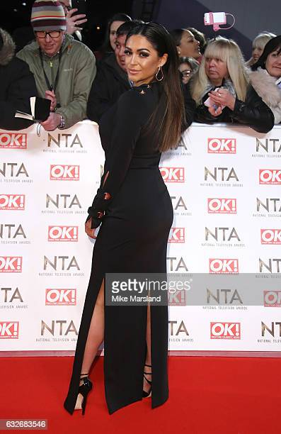 Casey Batchelor attends the National Television Awards at The O2 Arena on January 25 2017 in London England