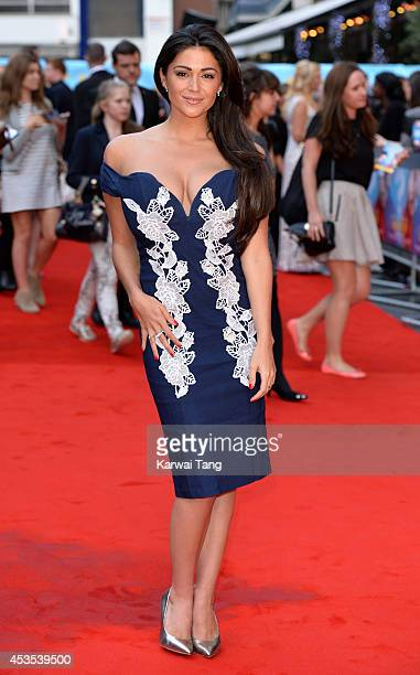 """Casey Batchelor attends the UK Premiere of """"What If"""" at Odeon West End on August 12, 2014 in London, England."""