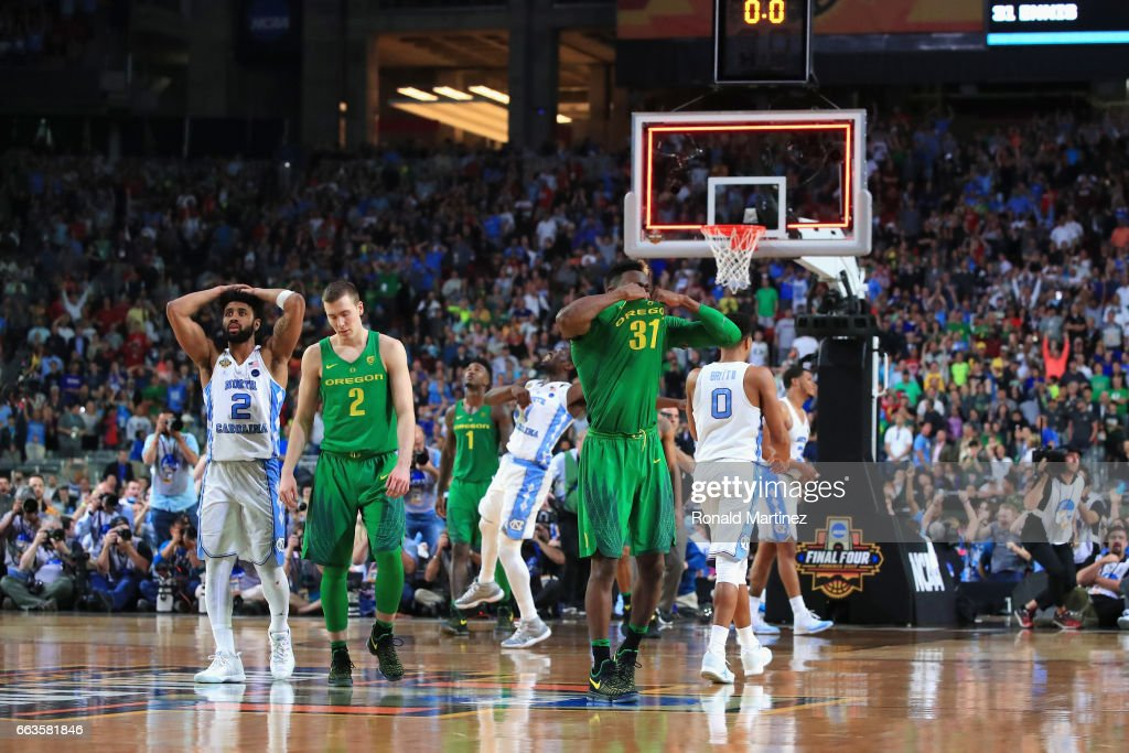NCAA Men's Final Four - Oregon v North Carolina
