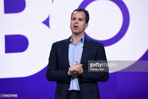 Casey Bloys President of Programming of HBO speaks onstage at HBO Max WarnerMedia Investor Day Presentation at Warner Bros Studios on October 29 2019...