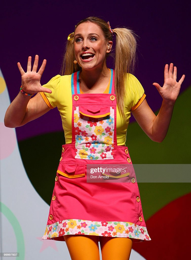 Casey Burgess of the new Hi-5 line-up perform a segment from their new stage show 'Hi-5 Surprise!' at the Theatre Royal on January 12, 2010 in Sydney, Australia.