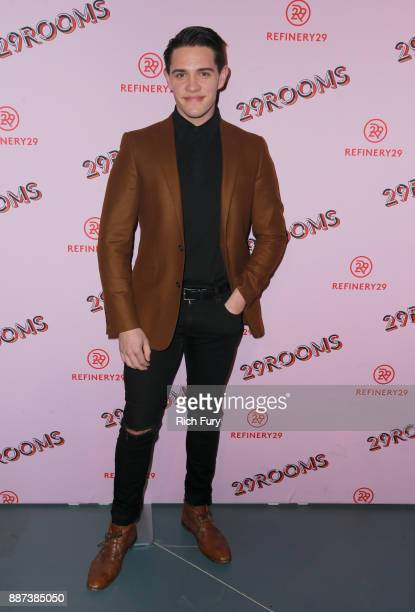 Casey Cott attends Refinery29 29Rooms Los Angeles Turn It Into Art Opening Night Party at ROW DTLA on December 6 2017 in Los Angeles California