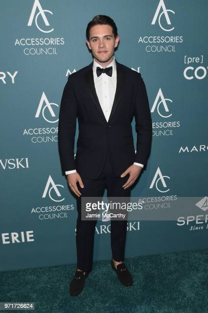 Casey Cott attends the 22nd Annual Accessories Council ACE Awards at Cipriani 42nd Street on June 11 2018 in New York City