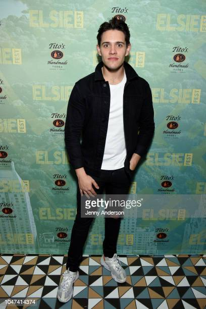 Casey Cott attends the 4th Annual Elsie Fest Broadway's Outdoor Music Festival at Central Park SummerStage on October 7 2018 in New York City