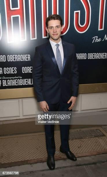 Casey Cott attends the Broadway opening night performance of 'Bandstand' at the Bernard B Jacobs Theatre on 4/26/2017 in New York City