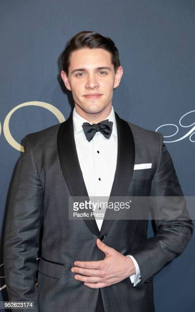 Casey Cott attends the Brooks Brothers Bicentennial Celebration at Jazz At Lincoln Center Manhattan