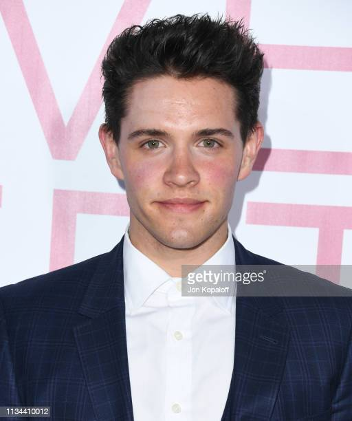 Casey Cott attends the premiere of Lionsgate's Five Feet Apart at Fox Bruin Theatre on March 07 2019 in Los Angeles California