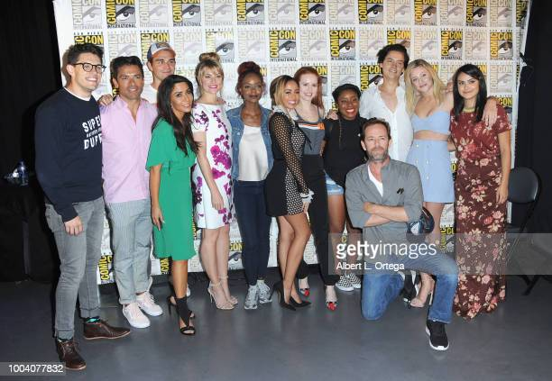 Casey Cott Mark Consuelos KJ Apa Marisol Nichols Madchen Amick Ashleigh Murray Vanessa Morgan Madelaine Petsch guest Luke Perry Cole Sprouse Lili...