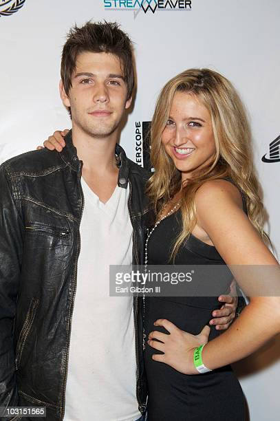Casey Deidrick and Daniella Wheeler arrive for the birthday bash of Soulja Boy at The Highlands club in the Hollywood Highland Center on July 28 2010...