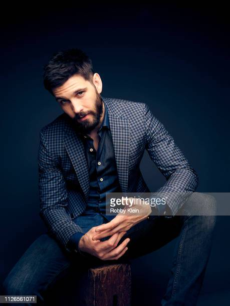 Casey Deidrick of The CW's 'In The Dark' poses for a portrait during the 2019 Winter TCA at The Langham Huntington Pasadena on January 31 2019 in...