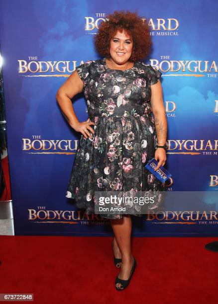 Casey Donovan arrives ahead of opening night of The Bodyguard The Musical at Lyric Theatre Star City on April 27 2017 in Sydney Australia