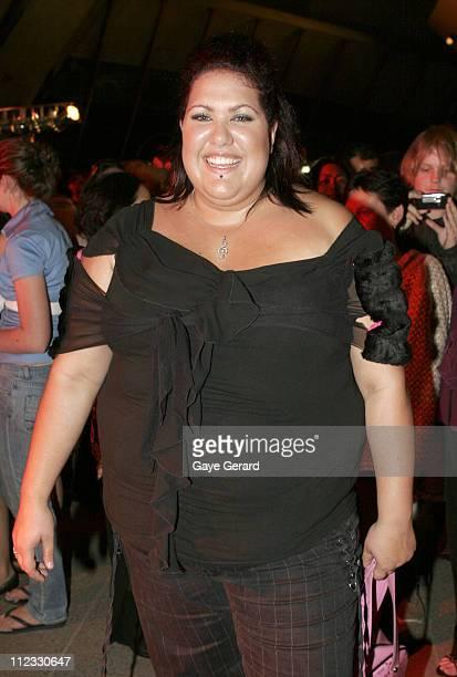 Casey Donovan during 2006 Deadly Awards at Sydney Opera House in Sydney NSW Australia
