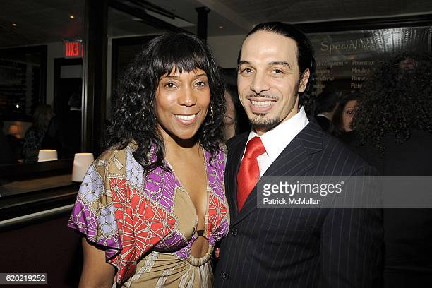 Casey Duke and Allel Hamiche attend Opening of BRASSERIE COGNAC at NYC on April 9 2008