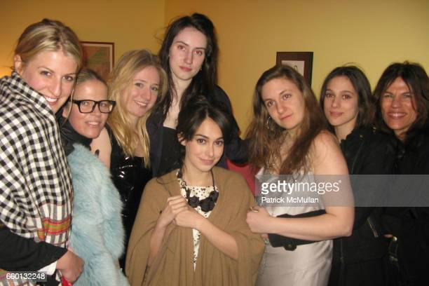 Casey Freemont Yvonne Force Villareal Joana d'Avillez Isabel Halley Audrey Gelman Lena Dunham Sara Rossein and Doreen Remen attend Delusional...
