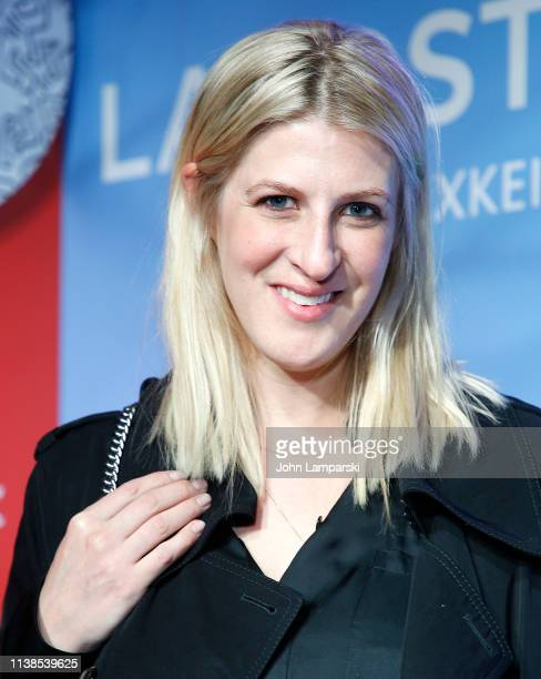 Casey Fremont attends Lacoste x Keith Haring collaboration launch at Pioneer Works on March 26 2019 in New York City