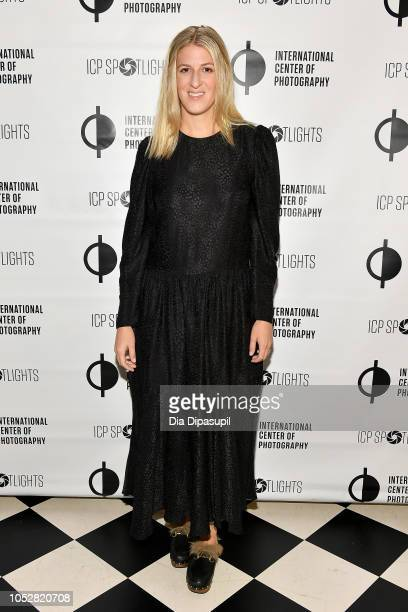 Casey Fremont attends the ICP Spotlights Luncheon Honoring Mickalene Thomas on October 23 2018 in New York City