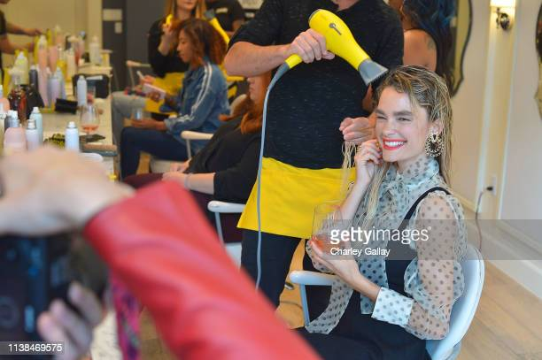 Casey Goode attends JNSQ Launches as Official Wine Partner of Drybar Salons Nationwide - LA Launch Party at Drybar Beverly Hills on March 22, 2019 in...