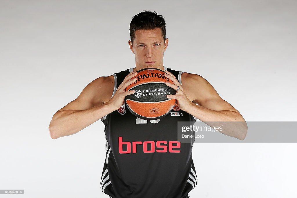 Brose Baskets Bamberg - 2013/14 Turkish Airlines Euroleague Basketball Media day : News Photo