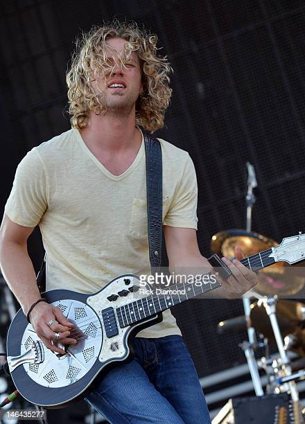 Casey James performs at the 2012 BamaJam Music and Arts Festival Day 2 on BamaJam Farms in Enterprise Alabama on June 15 2012