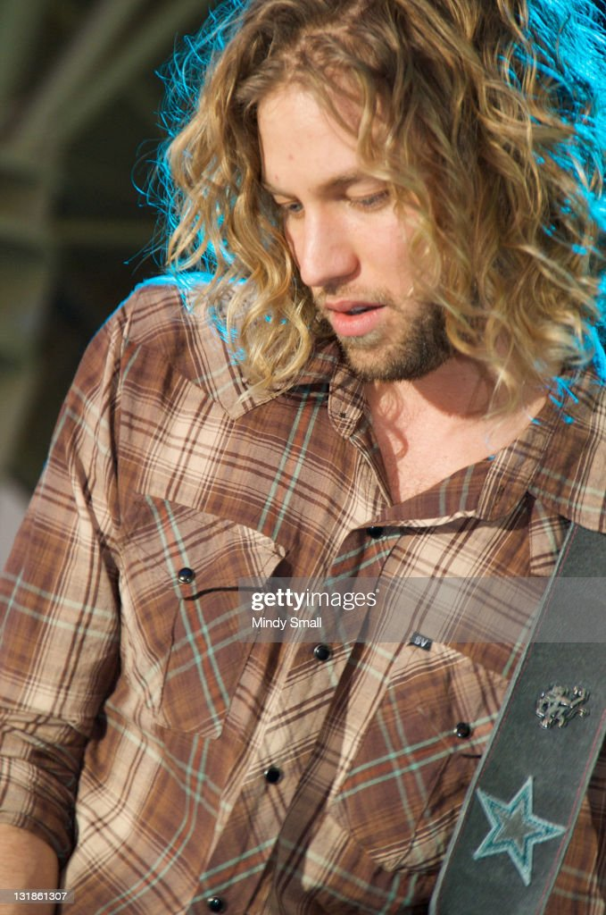 Casey James performs on night 1 of ACM Concerts At Fremont Street Experience on Fremont Street on April 1, 2011 in Las Vegas, Nevada.