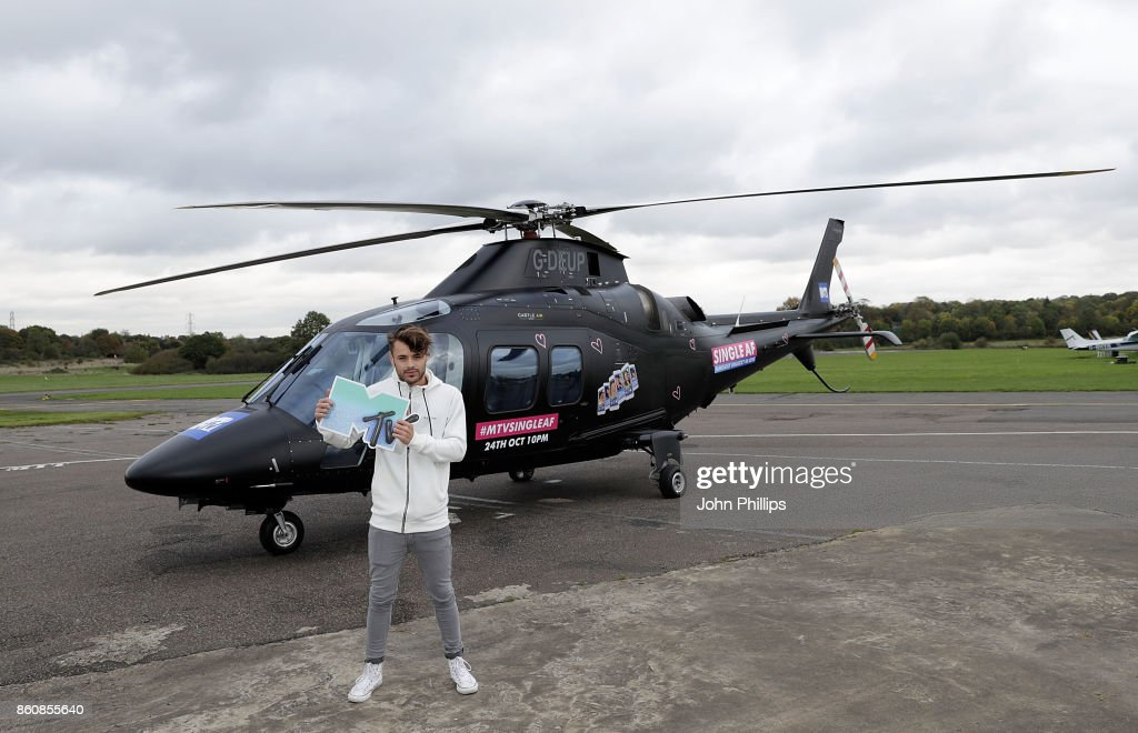 Casey Johnson during the MTV 'Single AF' Photocall at Elstree Studios on October 13, 2017 in Borehamwood, England. Seven celebrities embark on the global hunt for love with the help from their social media followers.