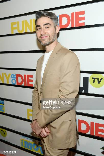 Casey Jost attends the Impractical Jokers The Movie Premiere Screening and Party on February 18 2020 in New York City 739100