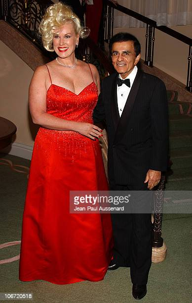 "Casey Kasem and wife Jean during The Museum of Television and Radio Honors CBS News's Dan Rather and ""Friends"" Producing Team - Inside at Beverly..."