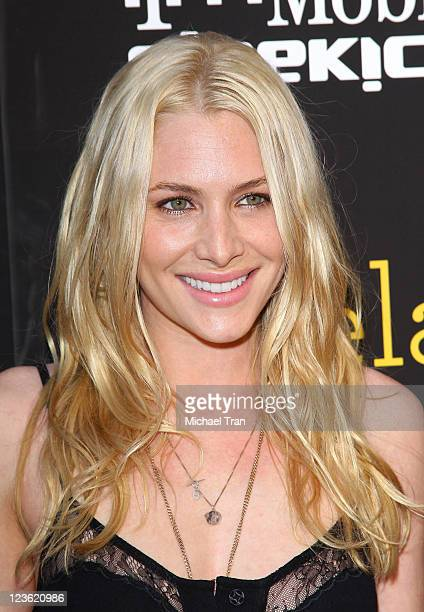 Casey LaBow arrives at the Los Angeles Premiere of 'Skateland' held at ArcLight Hollywood on May 11 2011 in Hollywood California