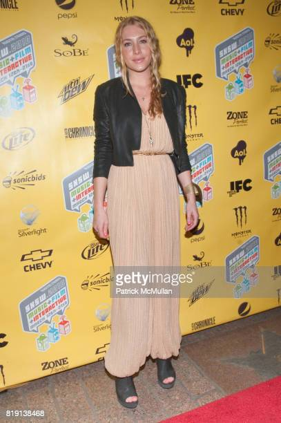 Casey LaBow attends Premiere Screening of SKATELAND at SXSW at Paramount Theater on March 16 2010 in Austin TX