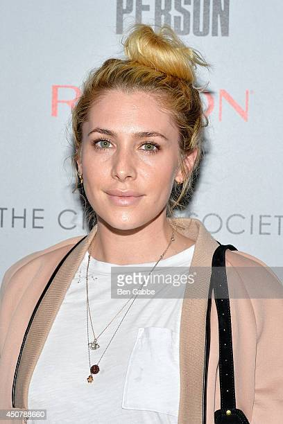 Casey LaBow attends Sony Pictures Classics' 'Third Person' screening hosted by The Cinema Society and Revlon on June 17 2014 in New York City