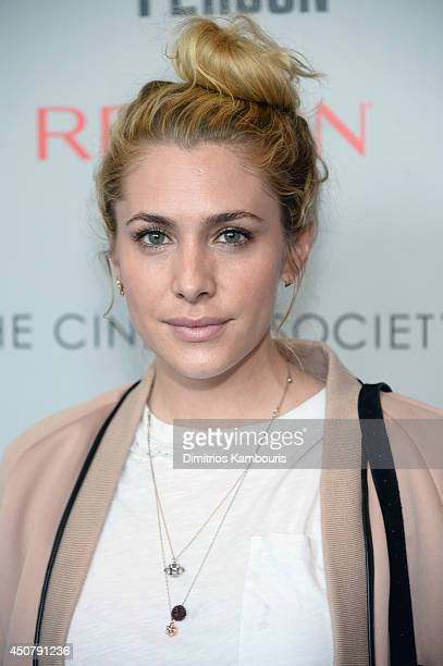 Casey LaBow attends Sony Pictures Classics' 'Third Person' screening hosted by The Cinema Society and Revlon at Landmark Sunshine Cinema on June 17...