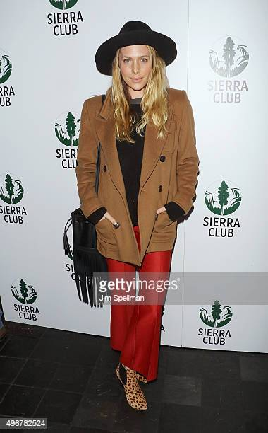 Casey LaBow attends the Sierra Club's Act In Paris a night of comedy and climate action at Heath at the McKittrick Hotel on November 11 2015 in New...
