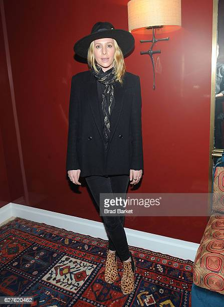 Casey Labow attends the The Cinema Society with Piaget Host an After Party for EuropaCorp's Miss Sloane at 432 Park Avenue Residence 86B on December...