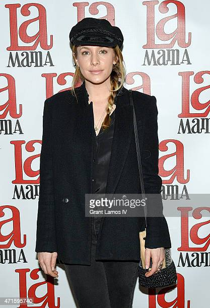 Casey LaBow attends the 'Trash Cuisine' Off Broadway Opening Night at La MaMa Theater on April 29 2015 in New York City