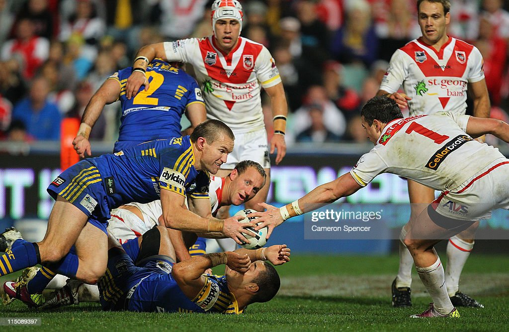 NRL Rd 13 - Eels v Dragons
