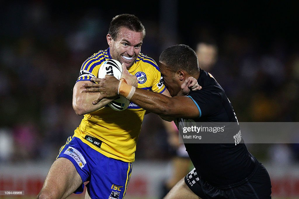 NRL Trial - Panthers v Eels
