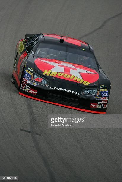 Casey Mears drives the Texaco Havoline Dodge during practice for the NASCAR  Nextel Cup Series 4a9144063e6c
