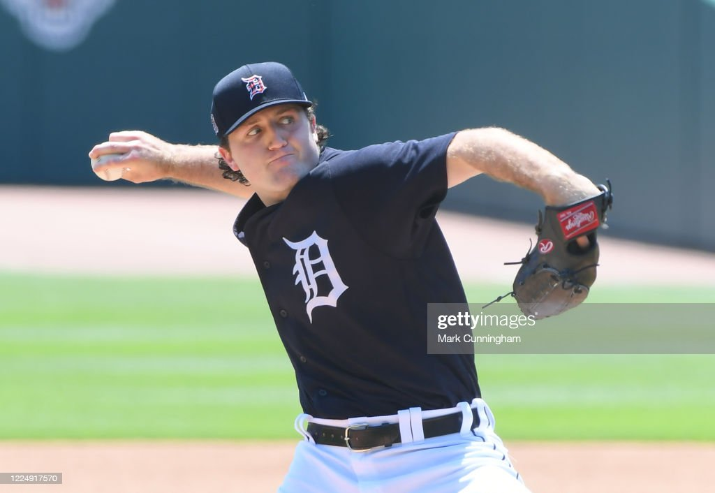 Detroit Tigers Summer Workouts : News Photo