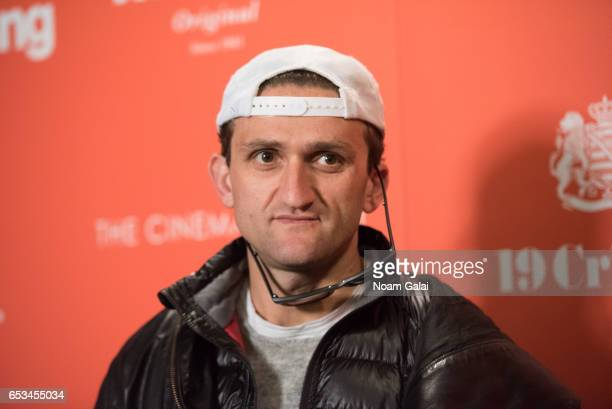 """Casey Neistat attends a screening of """"T2 Trainspotting"""" hosted by TriStar Pictures and The Cinema Society at Landmark Sunshine Cinema on March 14,..."""