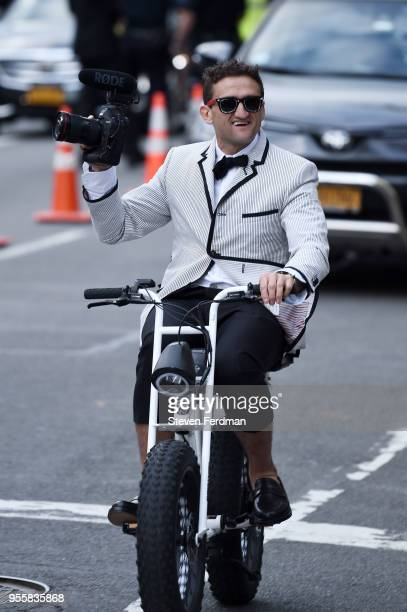 Casey Neistat attends Heavenly Bodies Fashion The Catholic Imagination Costume Institute Gala at Metropolitan Museum of Art on May 7 2018 in New York...